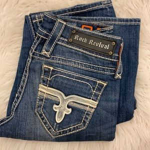 Rock revival Cindy straight jeans